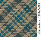 seamless pattern of scottish... | Shutterstock .eps vector #1931654789