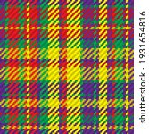 seamless pattern of scottish... | Shutterstock .eps vector #1931654816