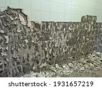 Abandoned Toilet. A Lot Of...