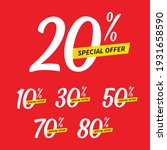 sale and special offer tag ... | Shutterstock .eps vector #1931658590