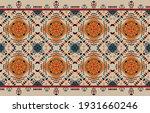 ethnic abstract pattern art.... | Shutterstock .eps vector #1931660246
