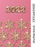 2022 new year card template... | Shutterstock .eps vector #1931665400