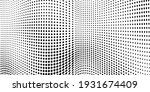 abstract halftone wave dotted... | Shutterstock .eps vector #1931674409