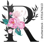 beautiful alphabet collection... | Shutterstock .eps vector #1931674613