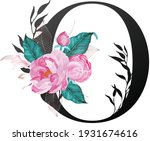 beautiful alphabet collection... | Shutterstock .eps vector #1931674616