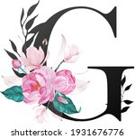 beautiful alphabet collection... | Shutterstock .eps vector #1931676776