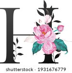 beautiful alphabet collection... | Shutterstock .eps vector #1931676779