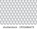 abstract geometric white and... | Shutterstock .eps vector #1931686673