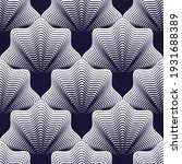 seamless geometric pattern.... | Shutterstock .eps vector #1931688389