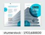 flyer business trendy corporate ... | Shutterstock .eps vector #1931688830