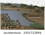 world environment day with... | Shutterstock .eps vector #1931712896