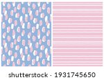 simple geometric vector pattern ... | Shutterstock .eps vector #1931745650