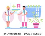 online appointment to the... | Shutterstock .eps vector #1931746589