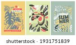 floral summer patterns perfect... | Shutterstock .eps vector #1931751839