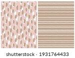 simple geometric vector pattern ... | Shutterstock .eps vector #1931764433