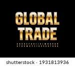 vector premium emblem global...   Shutterstock .eps vector #1931813936
