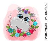 A Funny Hippopotamus Face...