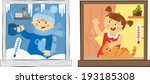 plastic windows | Shutterstock .eps vector #193185308
