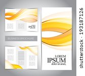tri fold brochure template   Shutterstock .eps vector #193187126