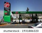 Mexico Gasoline Station Pemex...