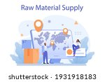 raw material supply concept.... | Shutterstock .eps vector #1931918183