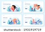 otorhinolaryngologist web...   Shutterstock .eps vector #1931919719