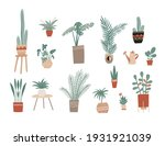 bigset with hand drawn house...   Shutterstock .eps vector #1931921039