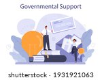 governmental support. business... | Shutterstock .eps vector #1931921063