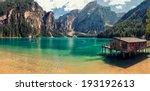 italian lake landscape   lago... | Shutterstock . vector #193192613