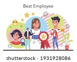 personnel screening concept....   Shutterstock .eps vector #1931928086
