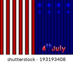 abstract 4th july america...