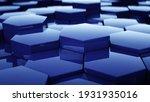 abstract hexagon geometric...   Shutterstock . vector #1931935016