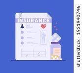 medical insurance for health... | Shutterstock .eps vector #1931940746