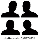 vector file of people icons | Shutterstock .eps vector #193199810