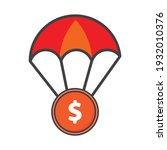 money illustration. flat vector ...