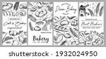 banner for the sale of bread... | Shutterstock .eps vector #1932024950