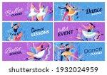 classes in ballet school... | Shutterstock .eps vector #1932024959