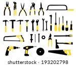 tools | Shutterstock .eps vector #193202798