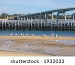 Bridge to Philip island (Philip island, Victoria, Australia) - stock photo