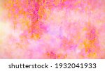 abstract oil and watercolor... | Shutterstock . vector #1932041933