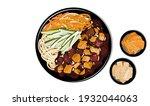 jajangmyeon or jjajangmyeon ...   Shutterstock .eps vector #1932044063