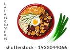 jajangmyeon  chinese style...   Shutterstock .eps vector #1932044066
