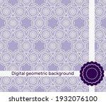 seamless geometric pattern....   Shutterstock .eps vector #1932076100