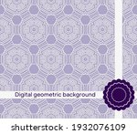 abstract geometric pattern with ...   Shutterstock .eps vector #1932076109