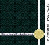 seamless vector decorative...   Shutterstock .eps vector #1932076163