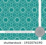 modern geometric pattern....   Shutterstock .eps vector #1932076190