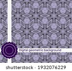 creative interior geometric...   Shutterstock .eps vector #1932076229
