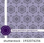 seamless pattern with abstract...   Shutterstock .eps vector #1932076256
