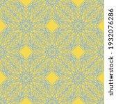 seamless vector decorative...   Shutterstock .eps vector #1932076286