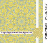 vector seamless pattern ...   Shutterstock .eps vector #1932076319